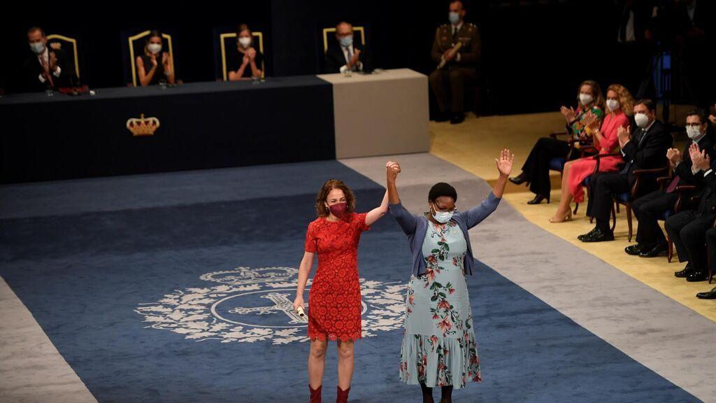 La entrega de los Premios Princesa de Asturias en el Teatro Campoamor, en imágenes