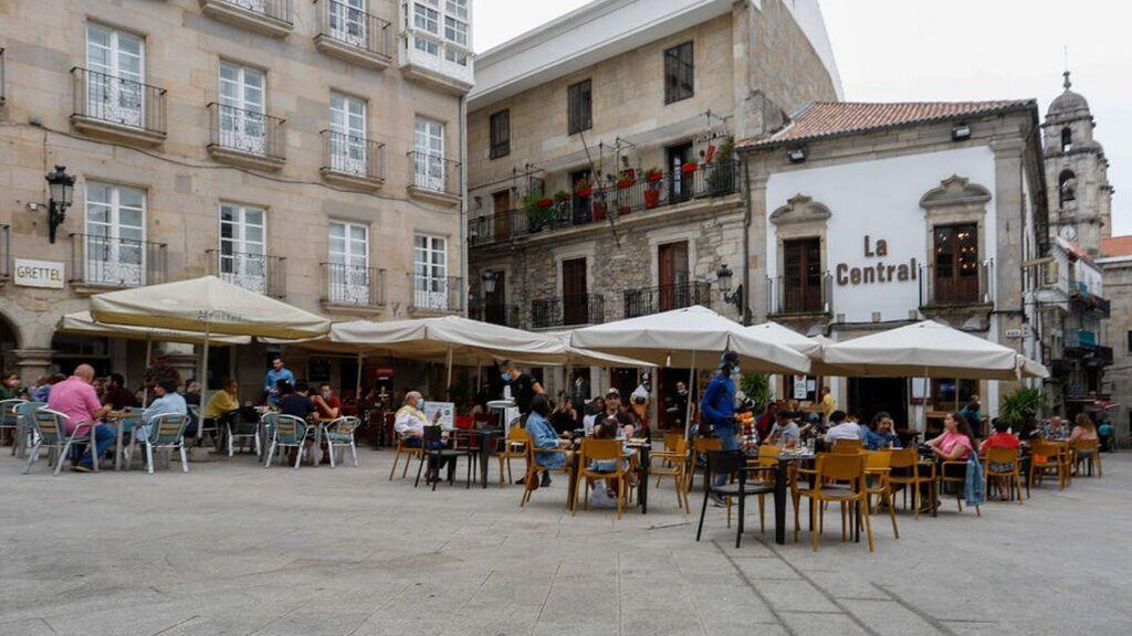 Última hora del coronavirus: Galicia estrena este fin de semana aforos al 100%