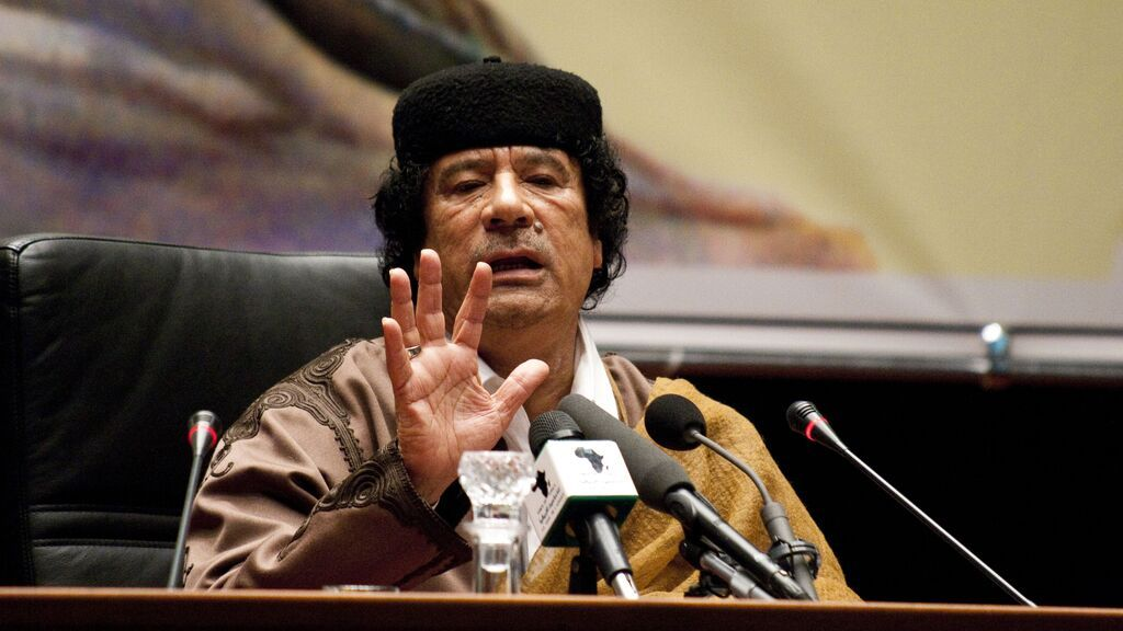 """Diez años sin Gadafi, """"nuestro hijo de puta"""""""