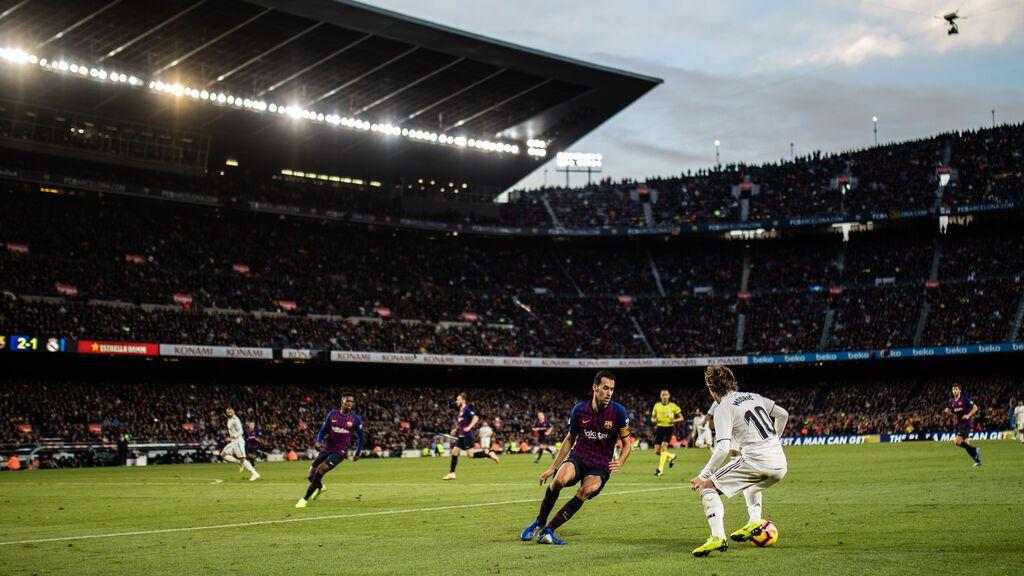 Primer 'Clásico' pandémico sin límite de aforo en un Camp Nou con capacidad para 100.000 aficionados