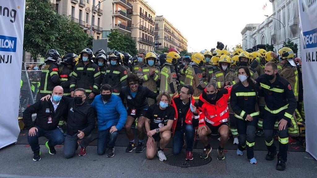 11.000 corredores han participado en la 'Cursa dels Bombers' en Barcelona este 2021