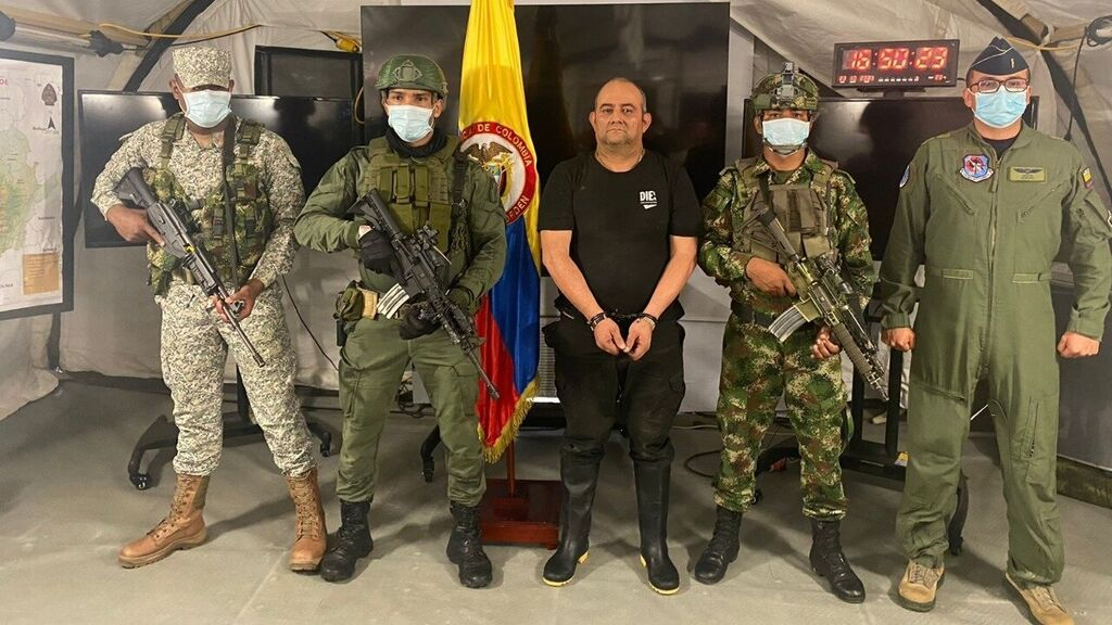 Capturan a 'Otoniel',  líder del Clan del Golfo y el narcotraficante más buscado de Colombia