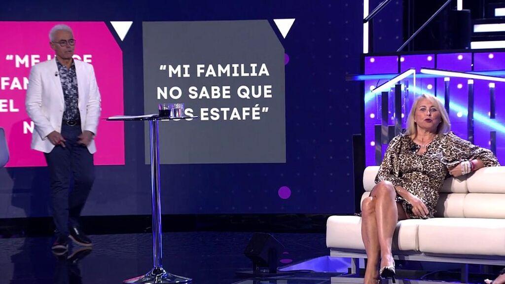 """Lucía Pariente explica su sorprendente secreto: """"Mi familia no sabe que la estafé"""""""