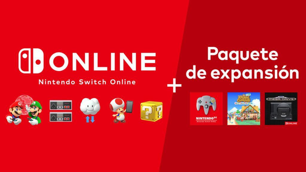 Nintendo Switch Online + Paquete de expansión. ¿Qué es y en qué consiste? Resolvemos tus dudas.