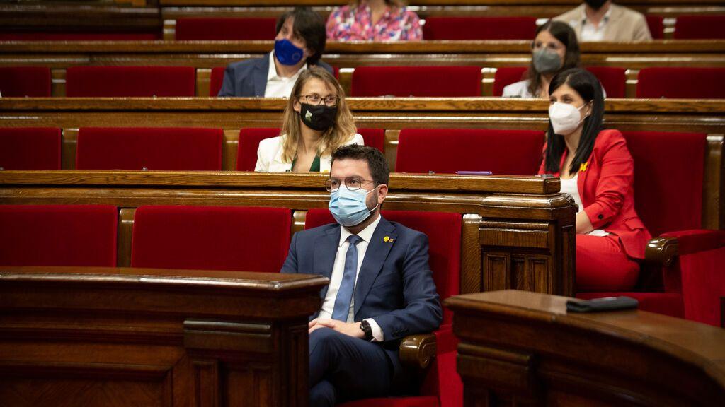 La Fiscalía exculpa al presidente de la Generalitat por avalar a los encausados del Procés en el Tribunal de Cuentas