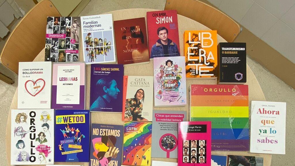 Los libros LGTBI volverán a los institutos de Castellón tras la autorización del juez