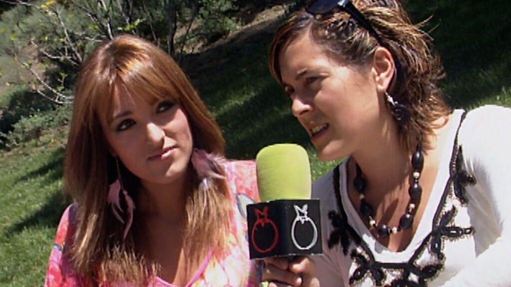 La primera entrevista de Marta Riesco en Telecinco