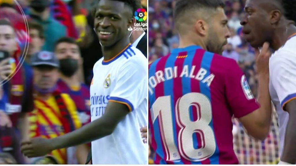 El barcelonismo encuentra nuevo enemigo: Vinicius, pitado e insultado en el Camp Nou, no se achantó