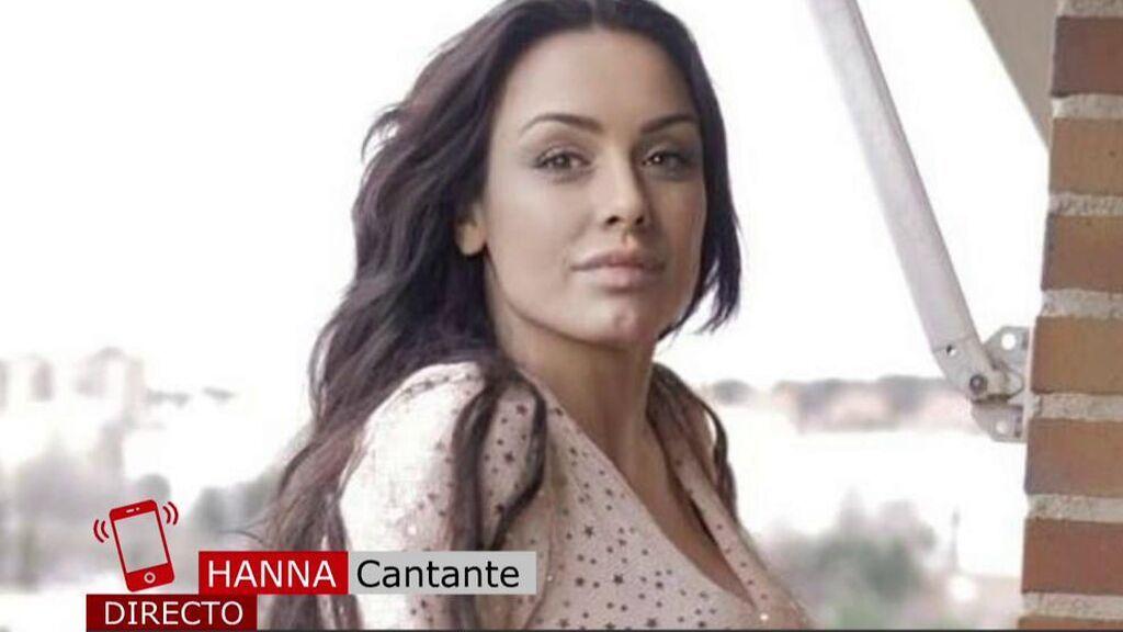 """La cantante Hanna da la cara tras una supuesta agresión: """"Es todo falso"""""""