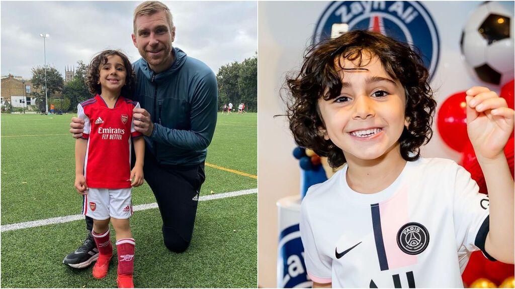 El Arsenal ficha a un niño prodigio para su cantera con tan solo 4 años: un fan del PSG y del Barça