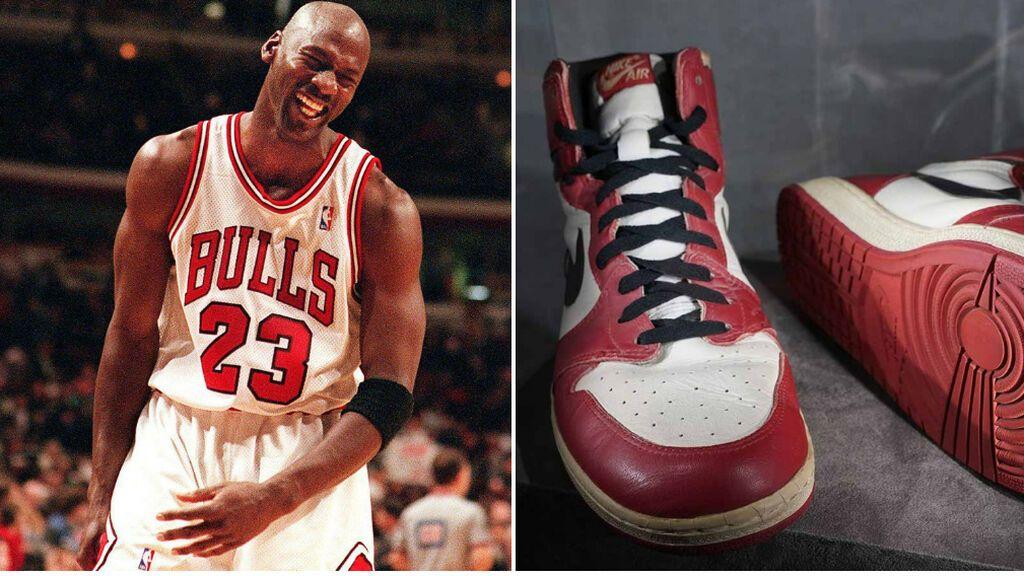 Unas zapatillas de Michael Jordan de 1984, subastadas por 1,5 millones de dólares