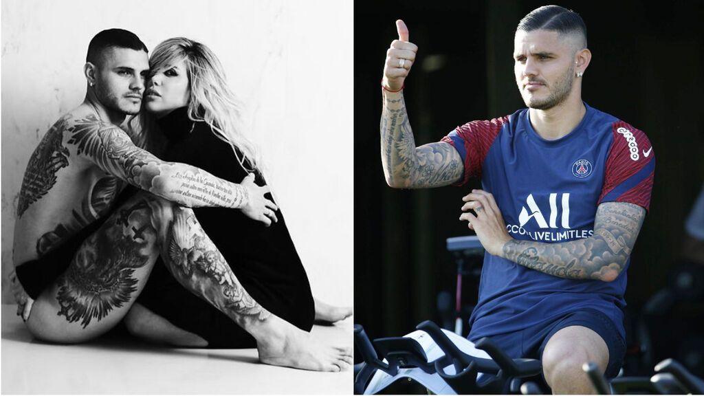 El significado de los tatuajes de Icardi: ¿Se borrará los que tiene con Wanda Nara si se separan?