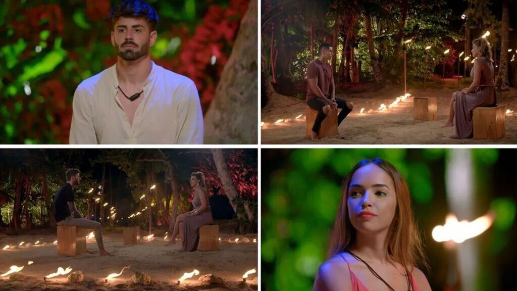 'Círculos de fuego' definitivos y la hoguera de confrontación de Isaac y Lucía, en 'La última tentación'