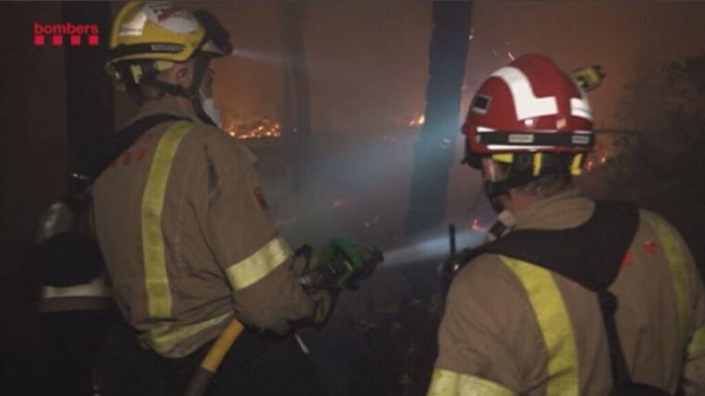 Detenido un hombre por provocar doce incendios este verano en Cataluña