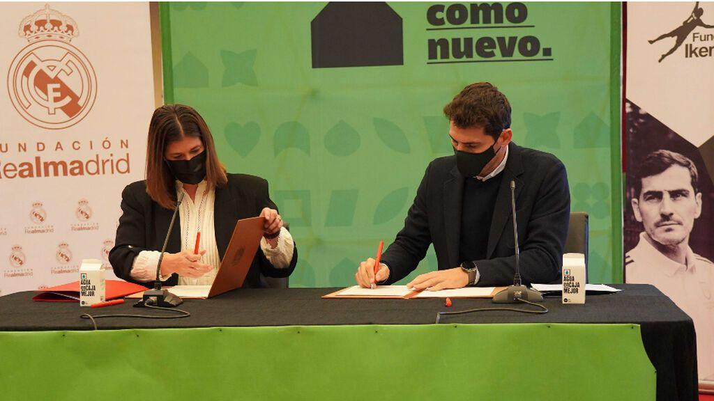 Iker Casillas y la Fundación Real Madrid pondrán en marcha en Móstoles dos escuelas sociodeportivas