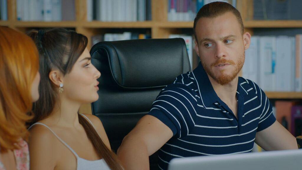 Serkan desesperado con su bebé