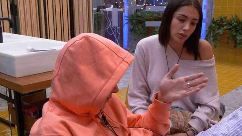 """Nueva crisis entre Julen y Sandra: """"Me ha dicho que ni la hable"""""""