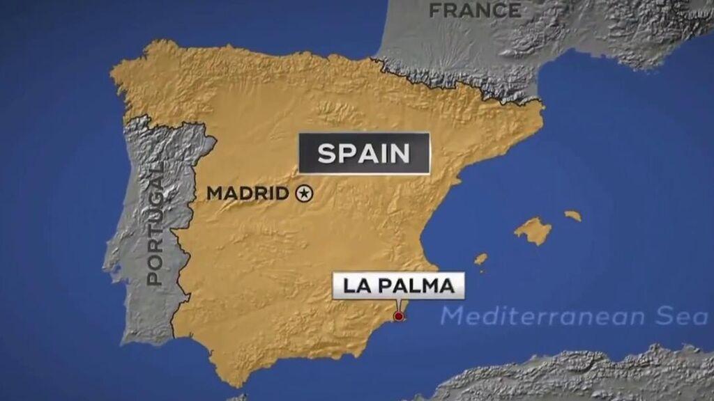 El lapsus de una cadena americana con la ubicación geográfica de La Palma