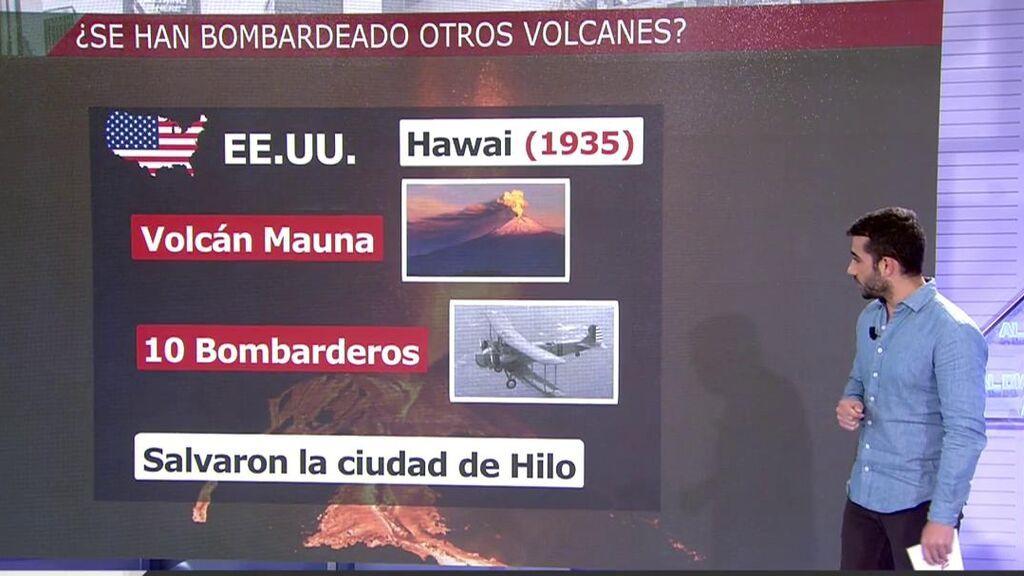 Bombardear el volcán para redirigir la lava: ¿Posible solución o disparate?