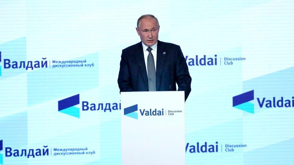 Putin asegura que Rusia aumentará el suministro de gas a Europa a partir de noviembre