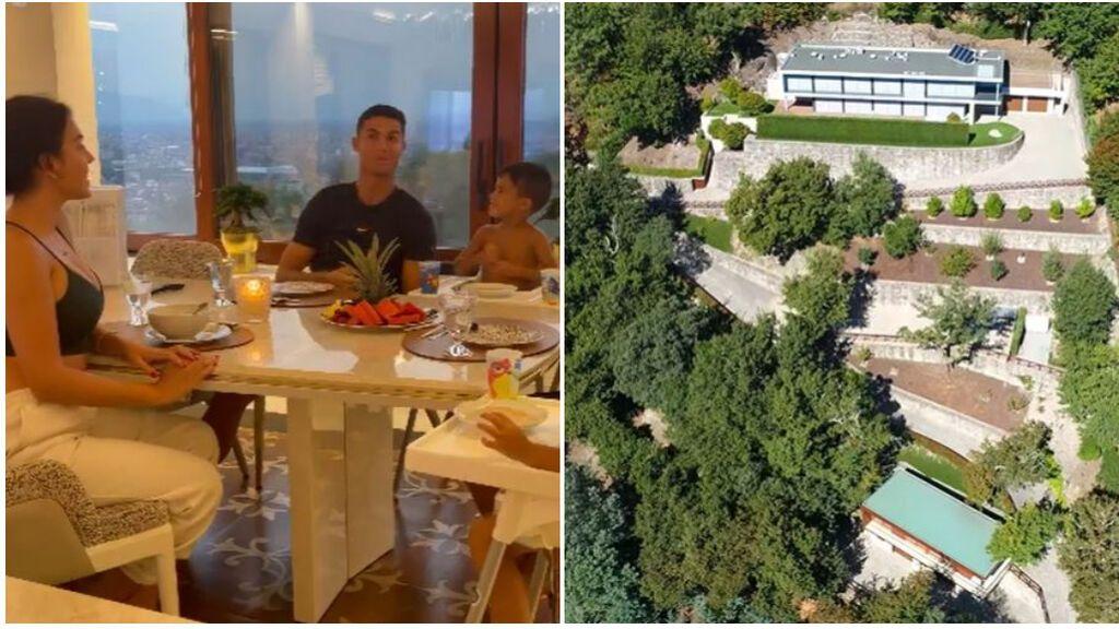 """Cristiano Ronaldo, obligado a demoler parte de dos de sus mansiones: """"Construyó de manera ilegal"""""""