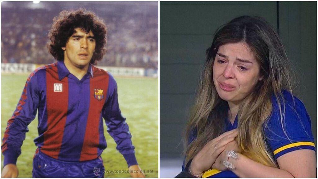 """Las hijas de Maradona se niegan a acudir al homenaje del Barça en Arabia Saudí: """"Hacen negocio con mi padre muerto"""""""