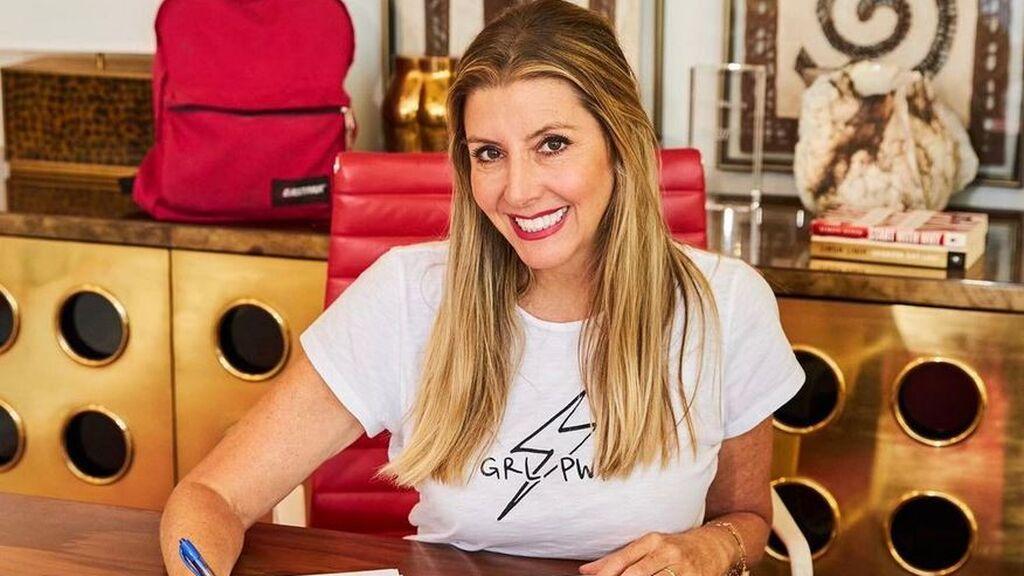 Sara Blakely, CEO y fundadora de la ropa moldeadora Spanx