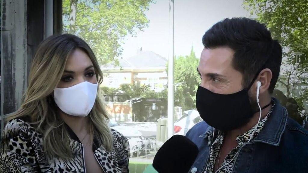 """La conexión en directo de Antonio David Flores con Marta Riesco en la que habló de su matrimonio: """"Está todo tranquilo"""""""