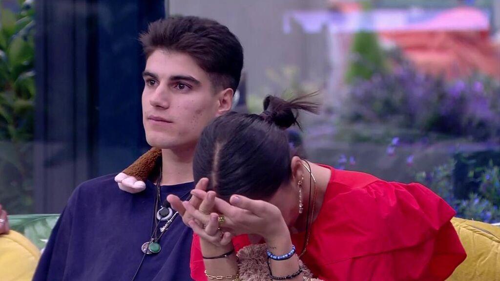 """Sandra Pica es la salvada por la audiencia y Julen asegura que va a ser expulsado: """"Lo tengo asumido"""""""