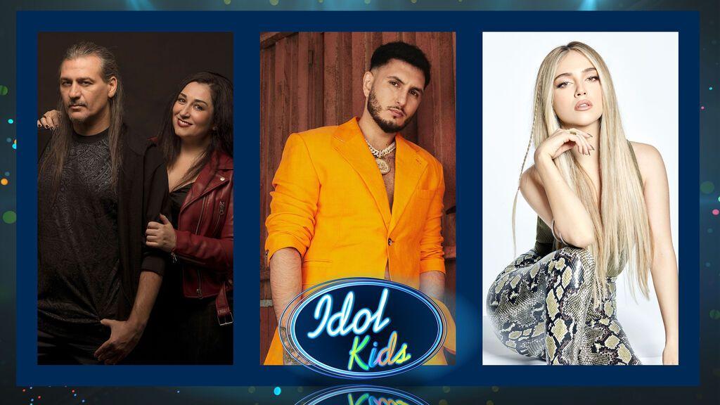 Primeras impresiones de Omar Montes, Ana Mena, Camela y Jesús Vázquez sobre la nueva temporada de 'Idol Kids'