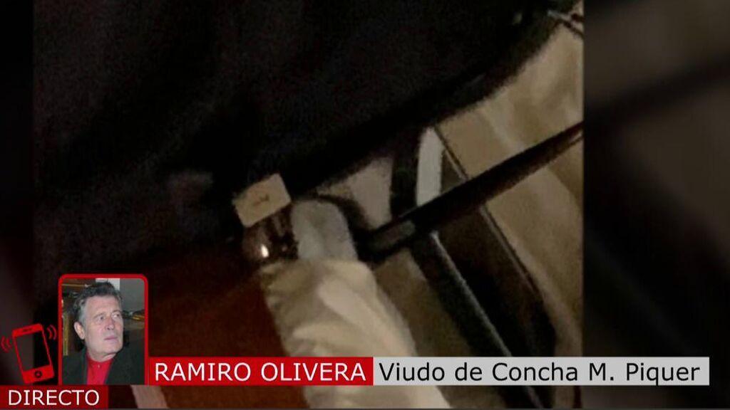 """Ramiro, viudo de Concha M. Piquer, tras la surrealista anécdota del móvil: """"Esto es otra de sus diabluras"""""""