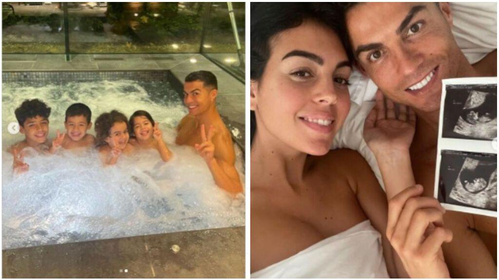 """Cristiano Ronaldo y Georgina Rodríguez anuncian que serán padres de gemelos: """"Llenos de amor"""""""
