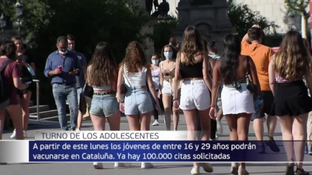 Se colapsa la web de la Generalitat para pedir autocita para 16 y 19 años