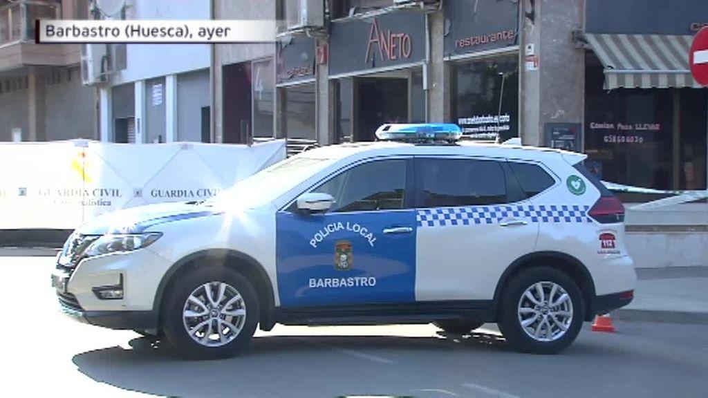 Los gritos de los hijos de 13, 6 y un año de la mujer asesinada en Barbastro alertaron del crimen
