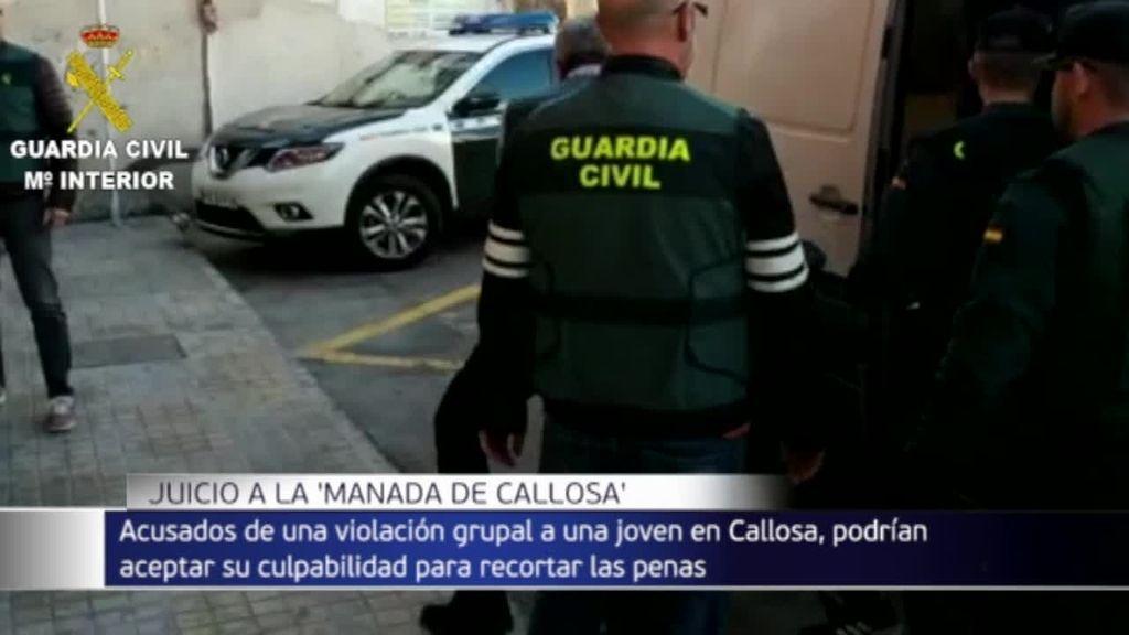 Juicio contra la manada de Callosa: piden 200 años de cárcel para los cuatro acusados