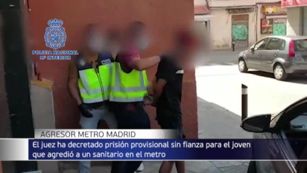 Primera noche en prisión del detenido por agredir a un sanitario en el Metro de Madrid