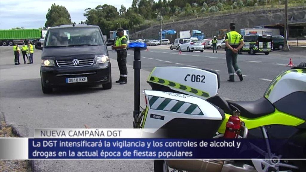 La DGT intensificará desde hoy los controles de alcohol y drogas entre los conductores