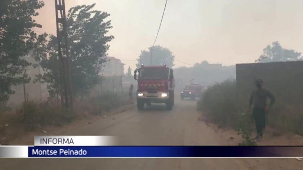 Los incendios forestales dejan 42 muertos en Argelia