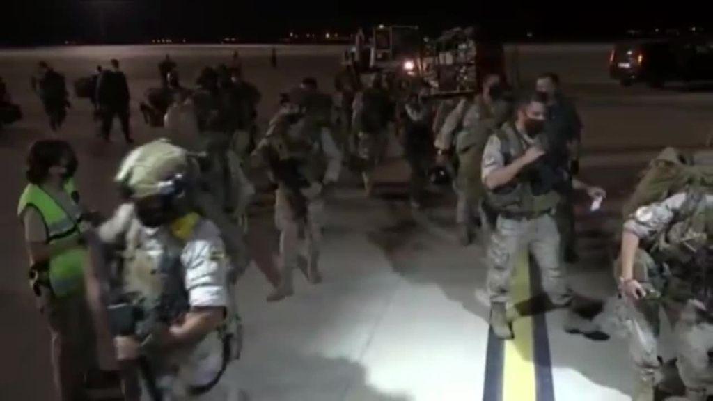 Despega desde Zaragoza el segundo avión destinado a la repatriación de españoles en Afganistán
