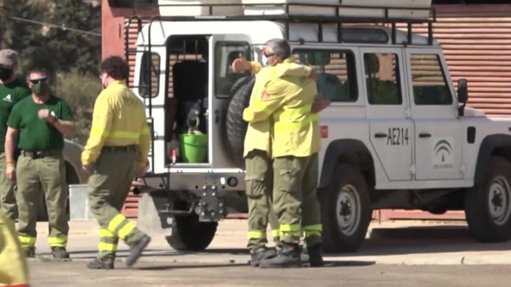 Conmoción por la muerte de Carlos, el bombero que perdió la vida luchando contra el fuego en Sierra Bermeja