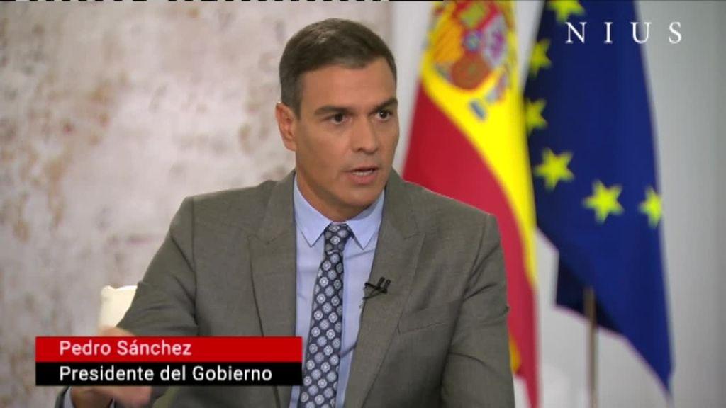 Entrevista Pedro Sánchez TVE