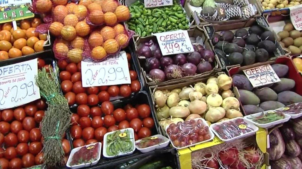 Los precios de las frutas por las nubes con la subida de la luz