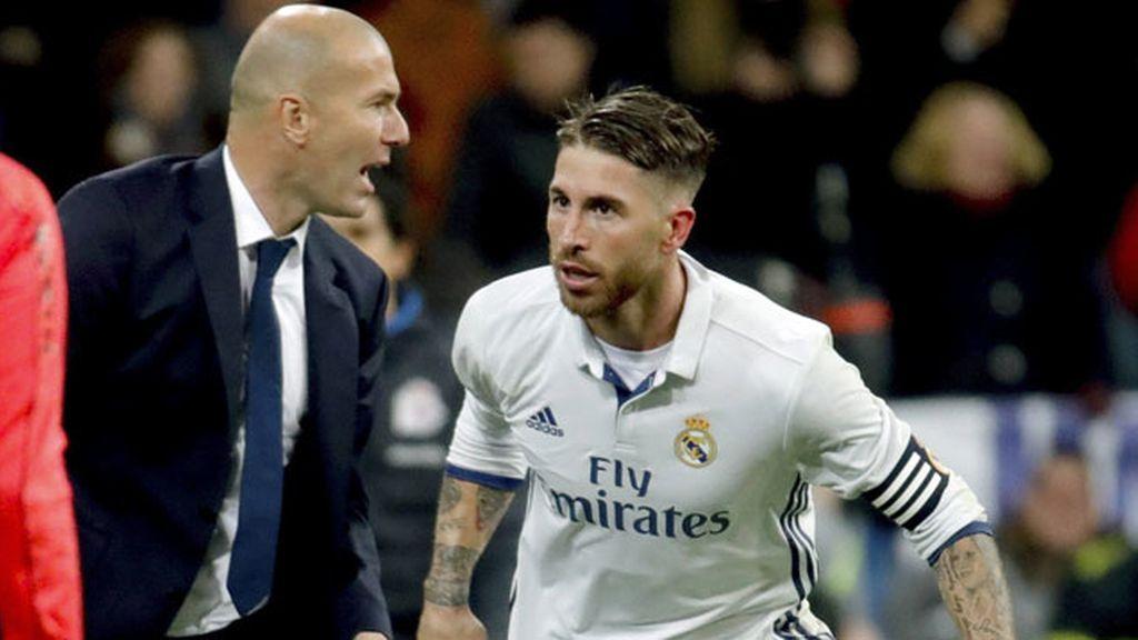 Zidane y Ramos