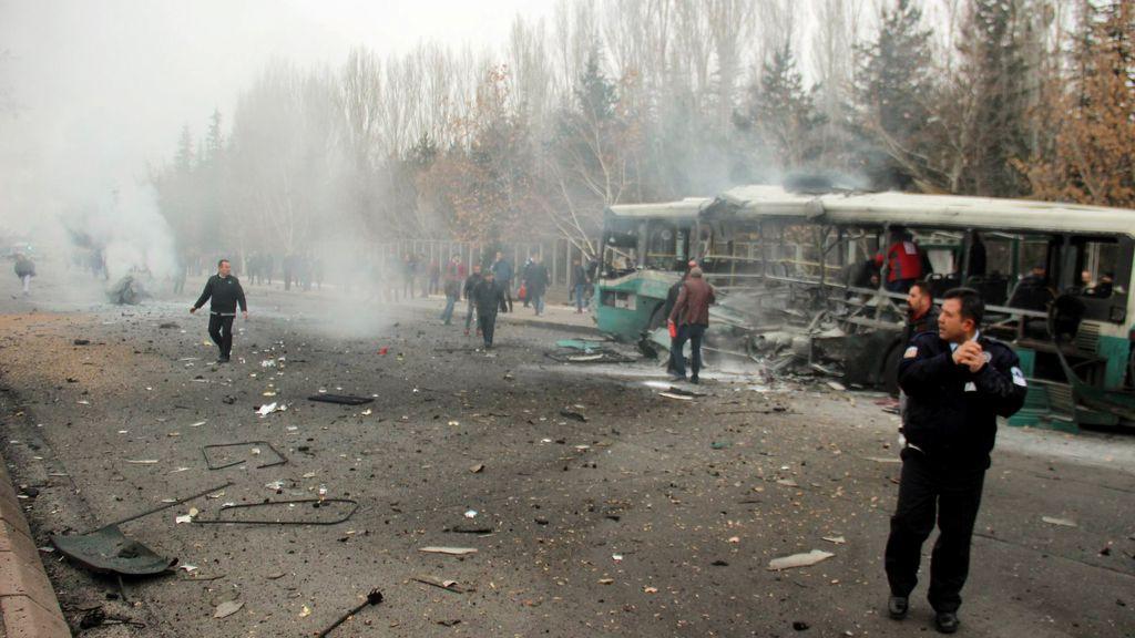Atentado con coche bomba en Turquía