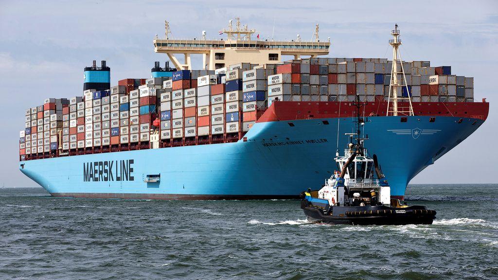 El transportador de container más grande del mundo