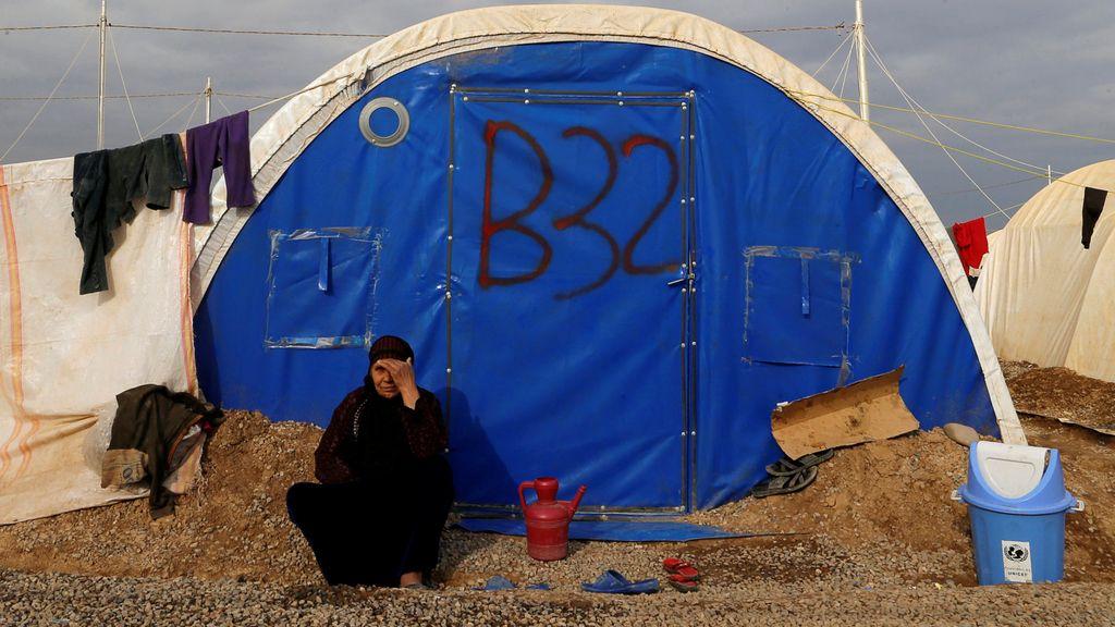 campament mosul