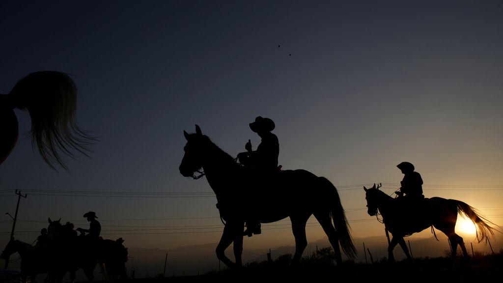 Peregrinación a caballo por la Virgen de Guadalupe