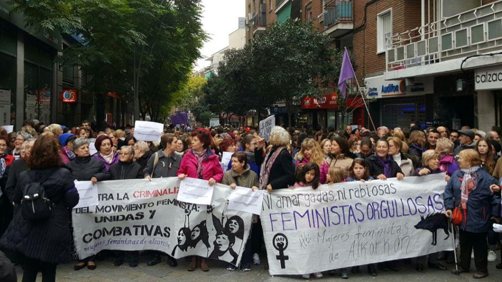 manifestación Alcorcón