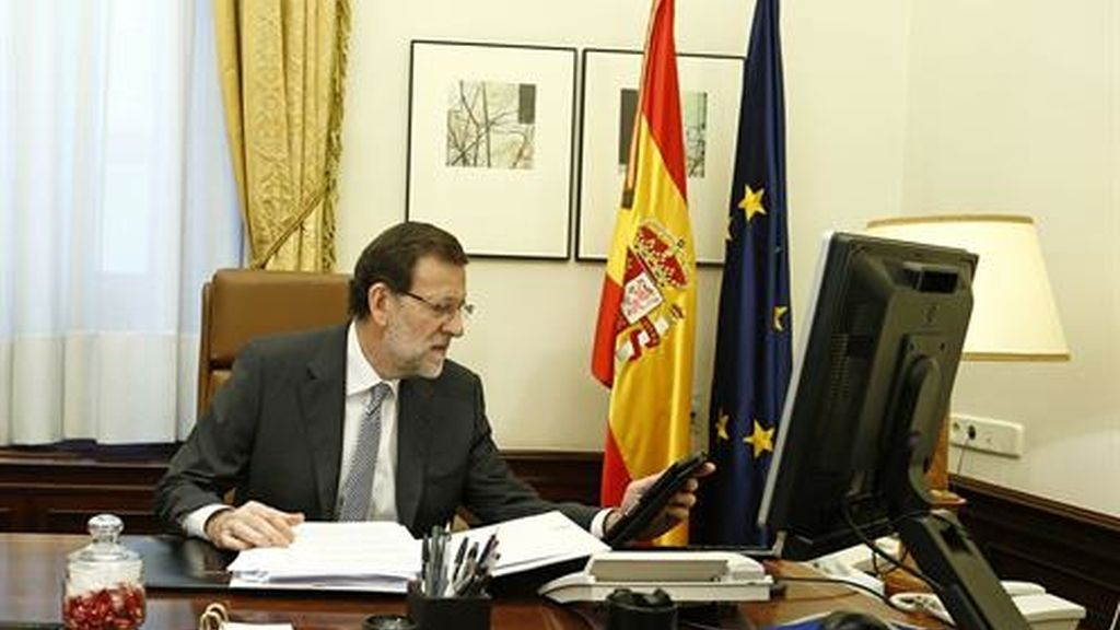 Rajoy habla con Donald Trump por primera vez