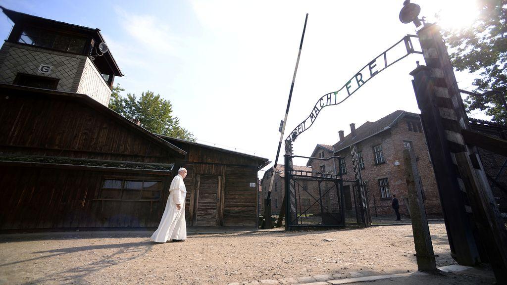 El Papa en Auschwitz